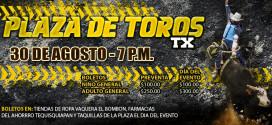 Gran Inauguración de la plaza de toros Tequisquiapan